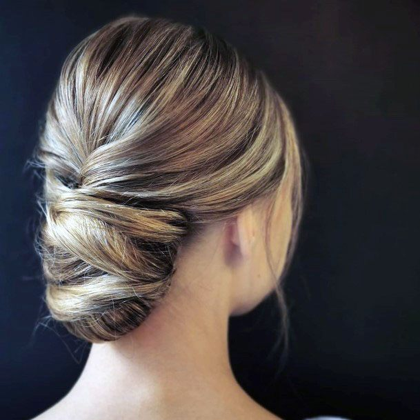 High Crowned Chignon Hairstyle For Women