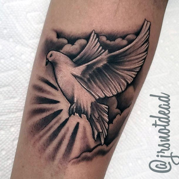 Holy Dove Tattoo Women