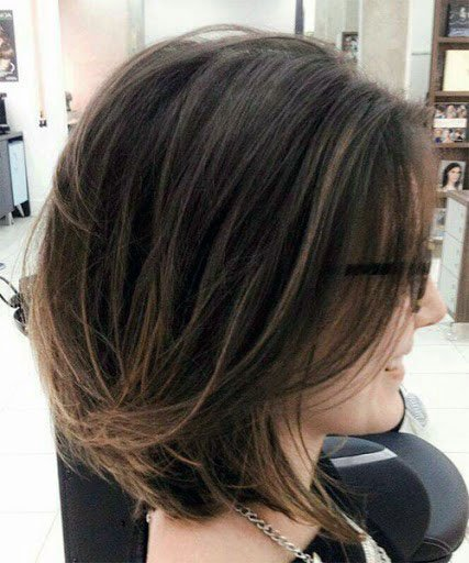 Honeyed Casual Style Short Hair Women