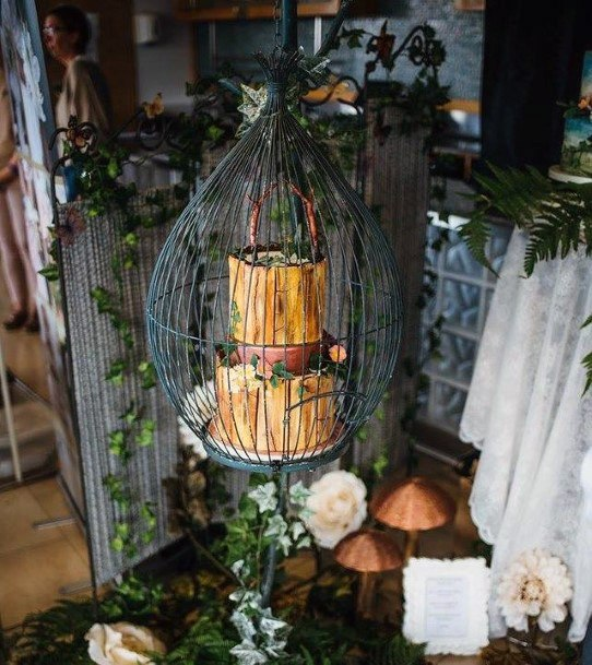 Horned Unique Wedding Cake