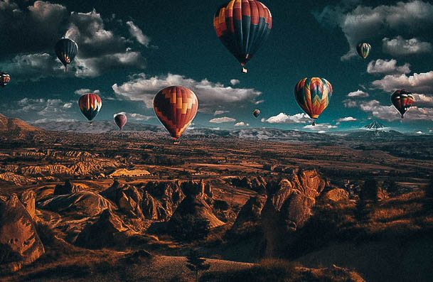 Hot Air Ballon Ride Thrilling Date Ideas