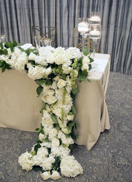 Huge Flowered Hydrangea Wedding Flowers White Art