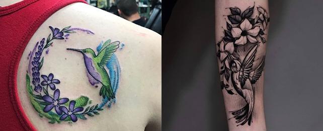 Top 100 Best Hummingbird Tattoos For Women – Charming Bird Designs