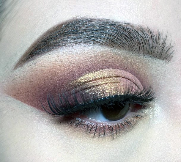 Ideas For Gold And Brown Eyeshadow Women