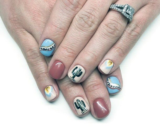 Incredible Cactus Nails Women