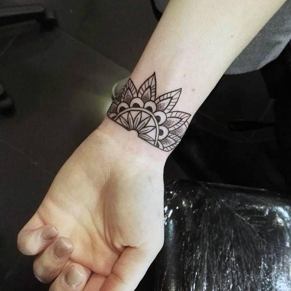 Inspiring Art Work Tattoo Womens Wrist