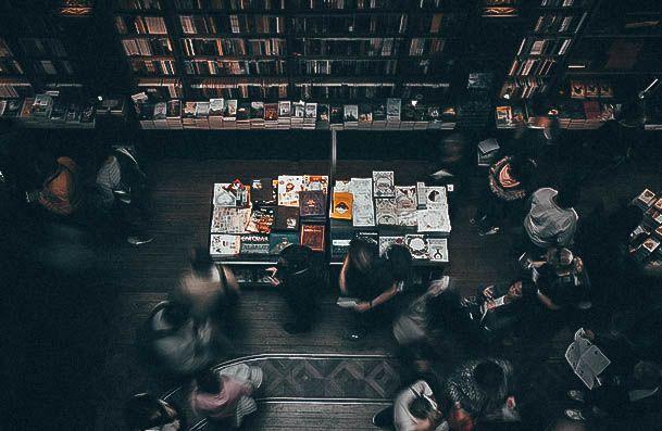 Introvert Date Ideas Read At A Bookstore