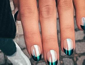 Iridescent Nails For Women