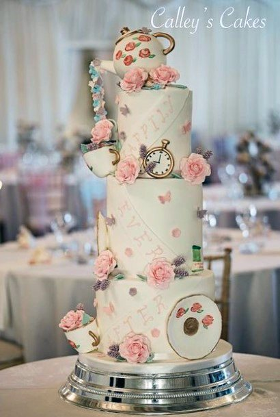 Jug Cup And Saucer Unique Wedding Cake