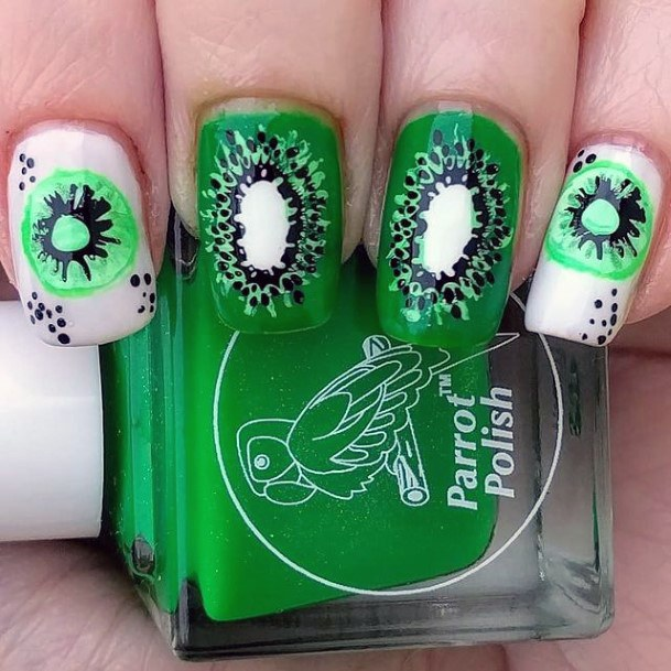 Juicy Nails Kiwi Green Women