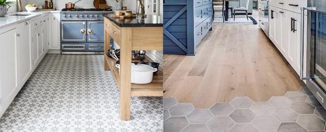 Top 90 Best Kitchen Flooring Ideas – Tile and Hardwood Designs