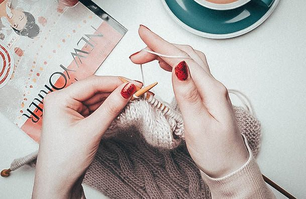 Knitting Craft Female Hobby Ideas