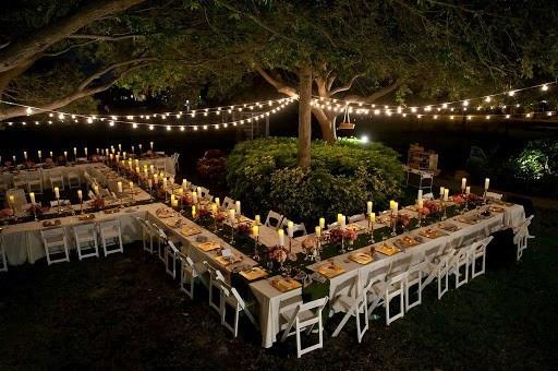 Large Groups Backyard Wedding Ideas