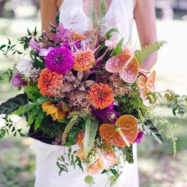 Large Hawaiian Wedding Flowers
