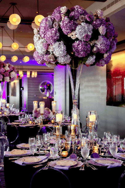 Lavendar Hydrangea Flowers Wedding
