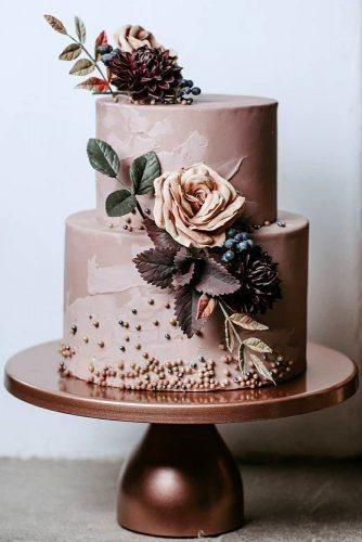 Light Milky Chocolate Wedding Cake