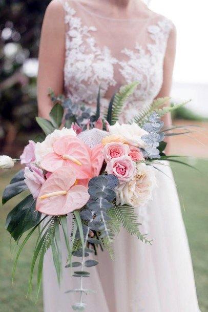 Light Orange Blush Wedding Flowers
