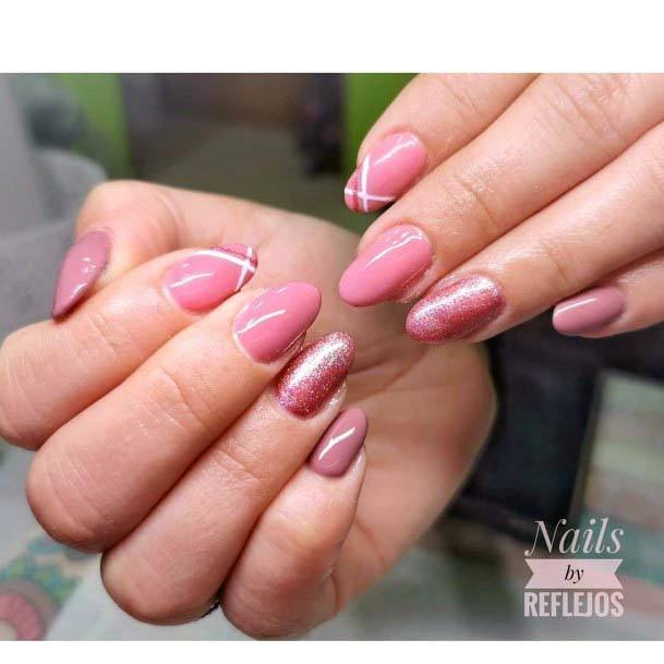 Light Pink Pretty Nail Art
