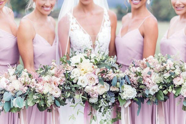 Lilac August Wedding Flowers