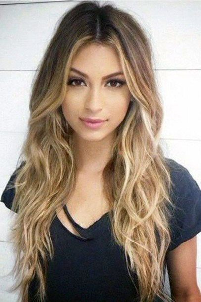 Best 20+ Middle Part Hairstyles Ideas On Pinterest | Middle Part