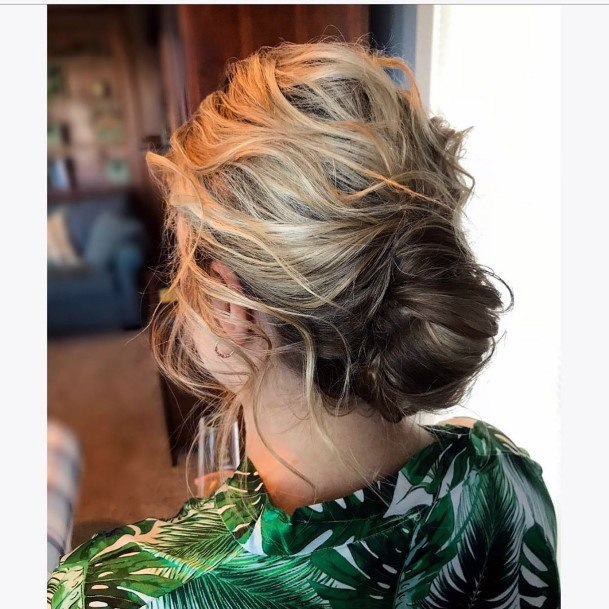 Loose And Wispy Mom French Twist For Women