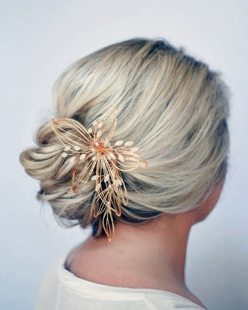 Loose Flower Inspiration French Twist For Women