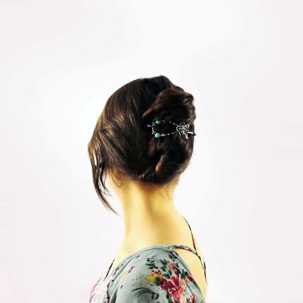 Loose Renaissance French Twist For Women And Teenage Girls