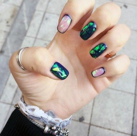 Lovely Glass Nails For Women