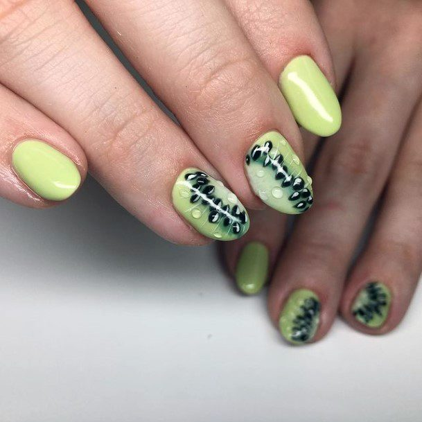 Lovely Kiwi Nails Women