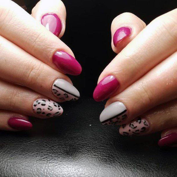 Lovely Leopard Nails For Women
