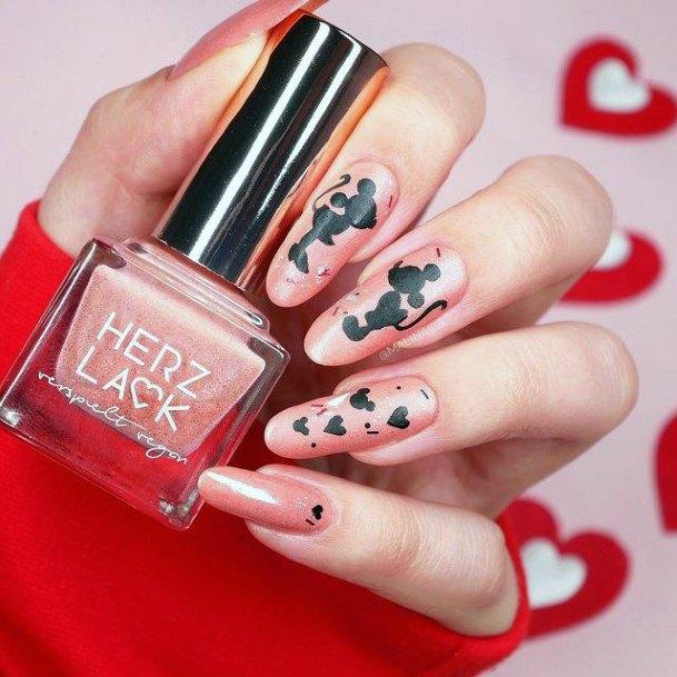Lovely Romantic Nails Women