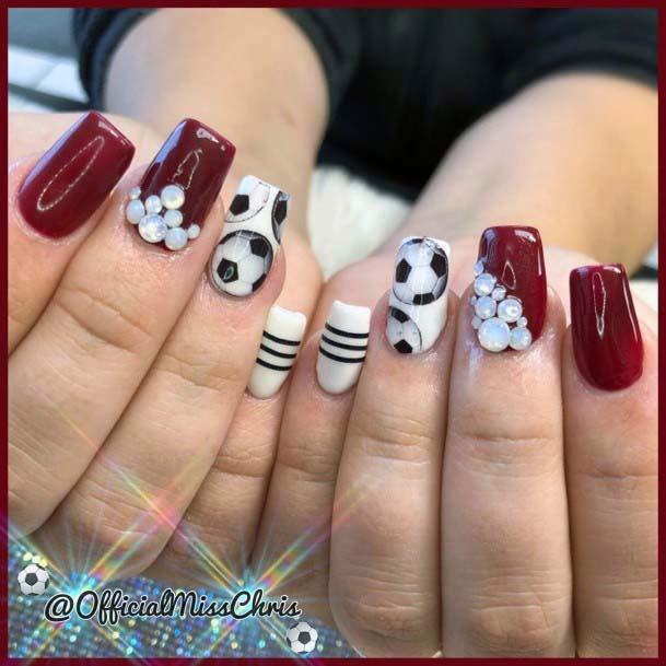Lovely Sport Nails For Women