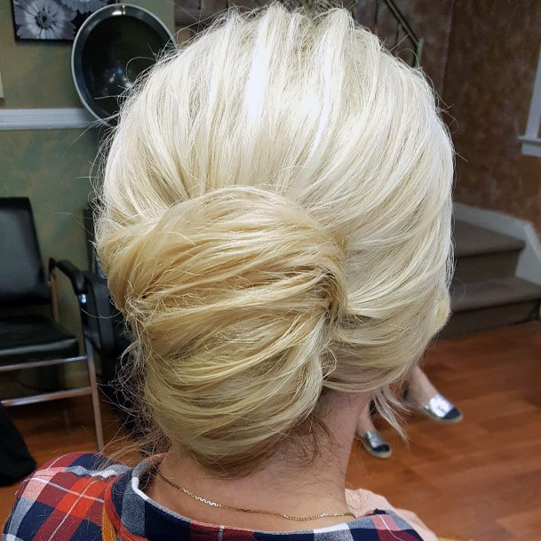 Lower Bright And Bulky French Twist For Women