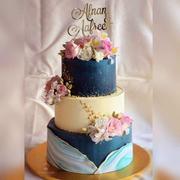 Lush 3 Tier Wedding Cake Women