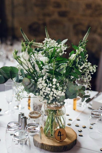 Lush And Green June Wedding Flowers