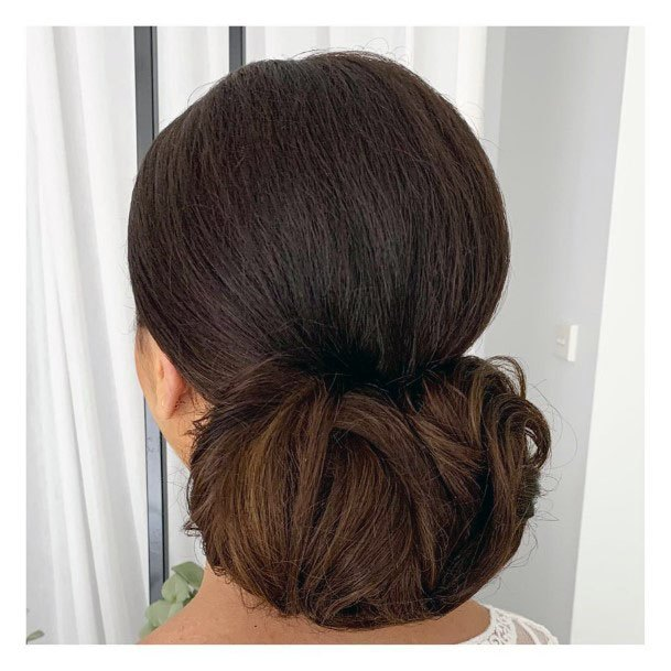 Lying Low Chignon Women Hair