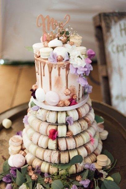 Macaron Towerwedding Cake Ideas