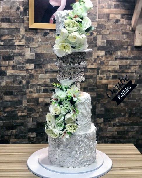 Magical Hanging 3 Tier Wedding Cake Women