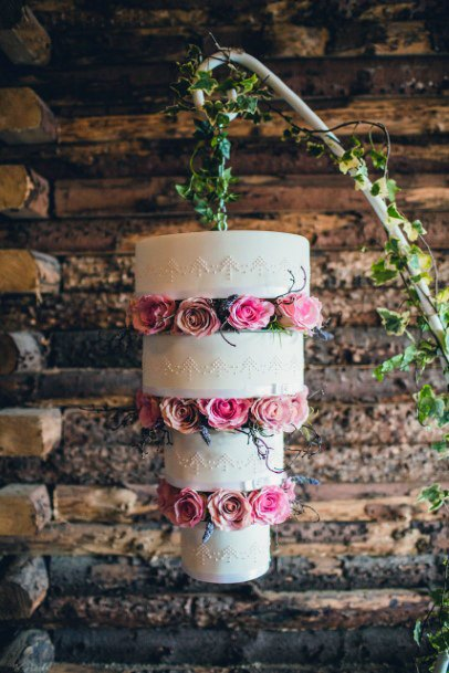 Magical Hanging Cake Stand For Women Wedding