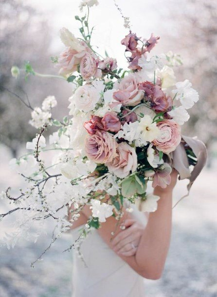 Marvellous Blush Wedding Flowers