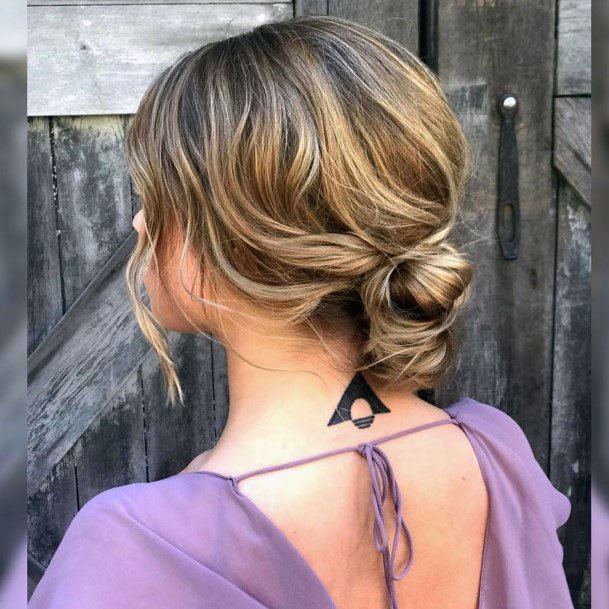 Matted Chignon For Short Hair Women