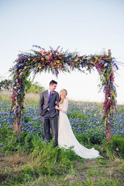 May Flower Wedding Arch