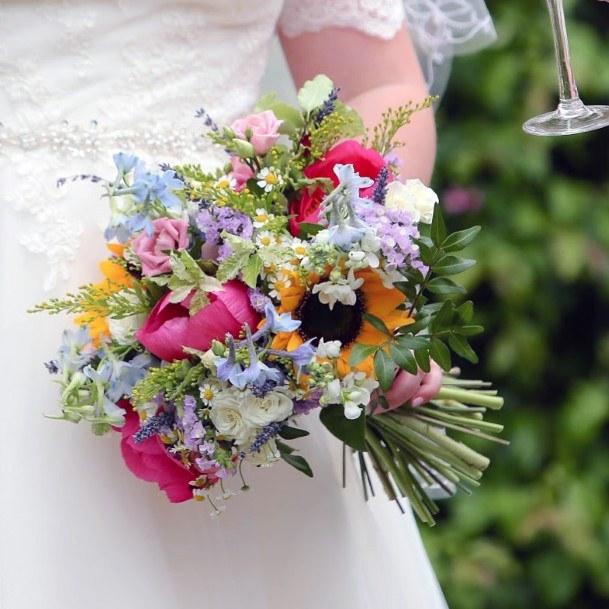 May Wedding Flowers Bunch