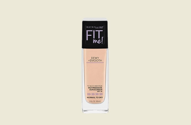 Maybelline New York Fit Me Dewy Smooth Women's Drugstore Foundation