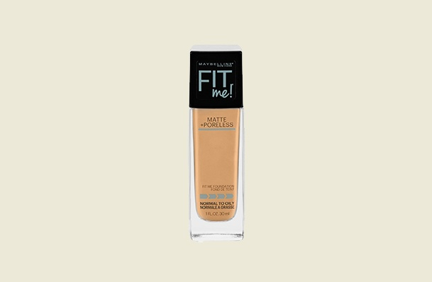 Maybelline New York Fit Me Matte Poreless Makeup Women's Liquid Foundation