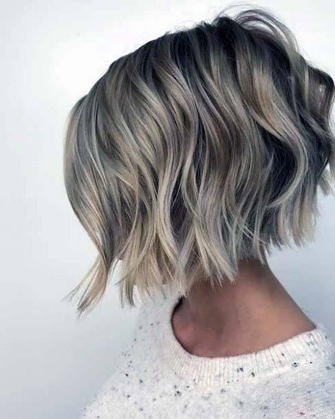 60 Best Short Angled Bob Hairstyles 2019