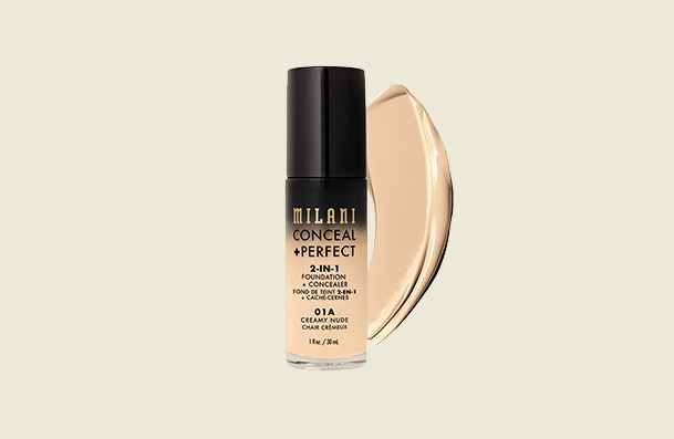 Milani Conceal Perfect 2 In 1 Drugstore Foundations For Women