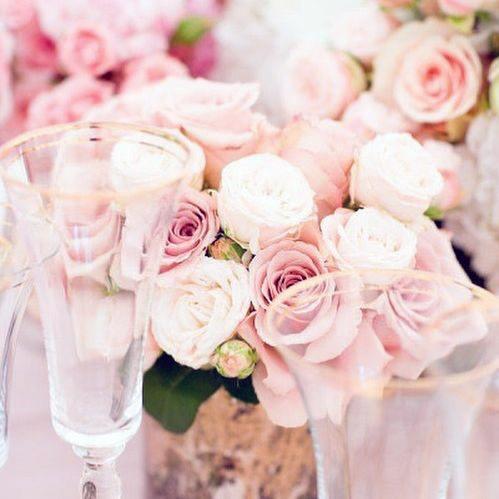 Mind Blowing Blush Wedding Flowers