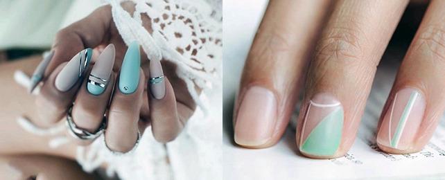 Top 60 Best Mint Nails For Women – Cool Green Design Ideas