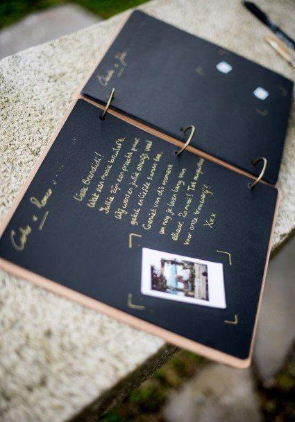 Modern Wedding Guest Book Ideas